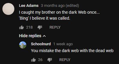 dead web